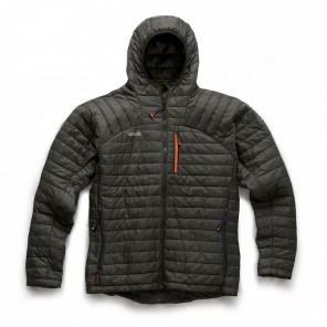 Scruffs Expedition Thermo Hooded Jacket Graphite