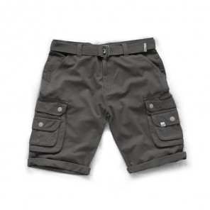 Scruffs Cargo Shorts Charcoal